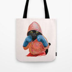 Boxing Cat 2  Tote Bag