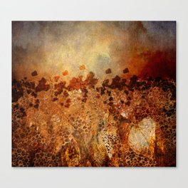 Autumn Melancholy Canvas Print