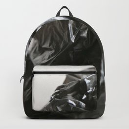 black plastic 05 Backpack