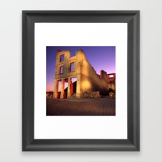 Night Time in Bodie Framed Art Print