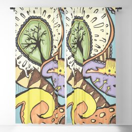 Tree of Life Blackout Curtain