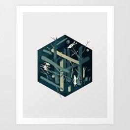 Cube 02 Art Print