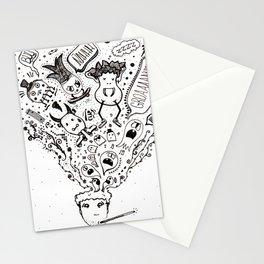 bad mood Stationery Cards