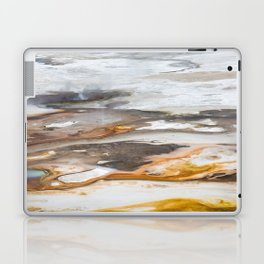 Yellowstone National Park - Thermophiles, Norris Geyser Basin Laptop & iPad Skin