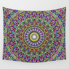 Floral Bohemian Magic Mandala Wall Tapestry