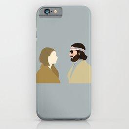 Margot and Richie The Royal Tenenbaums movie iPhone Case