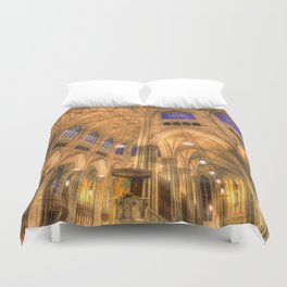 St Patrick's Cathedral New York Duvet Cover