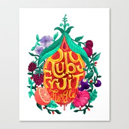 Rubyfruit Jungle Canvas Print