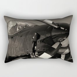 Tucano ZF 144 RAF Training Aircraft Rectangular Pillow
