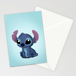 Chibi Stitch Stationery Cards