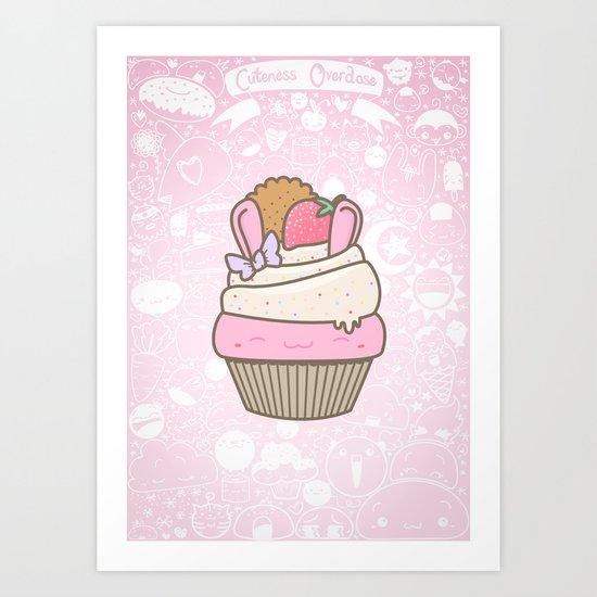 Cuteness Overdose Art Print