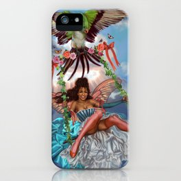 Swing Fairy iPhone Case