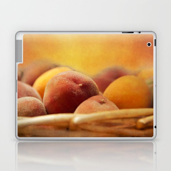 Fuzzy Peach Laptop & iPad Skin