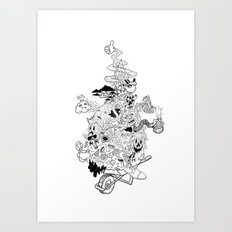 6AM Art Print