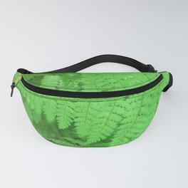 Green Fern Blurr Fanny Pack