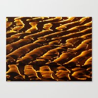 sand Canvas Prints featuring Sand by Chris Petty