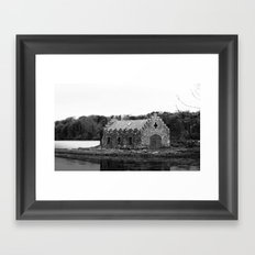An old Irish Church Framed Art Print