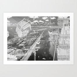 Frackpool 04 Art Print