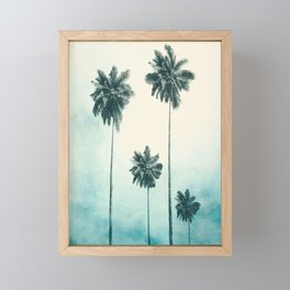 Palm Trees Framed Mini Art Print