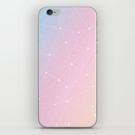 Rainbow Watercolor Astronomy iPhone Skin