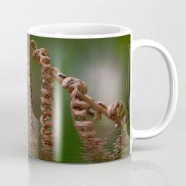 Dry fern and ripples Coffee Mug