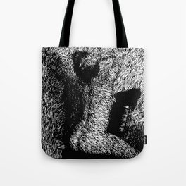 Figure Seated on Chair Tote Bag