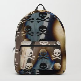 Overhead Skull and XBones: Shadow Burn Backpack