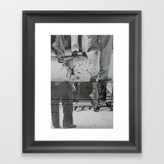 two of us 7 Framed Art Print