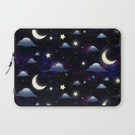 Crescent Moon Sky Laptop Sleeve