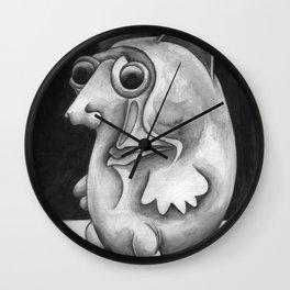 Pulga #49 de Jean Michel Basquiat estilo Corleone Wall Clock