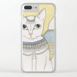 Blanka Cat Fairy Clear iPhone Case