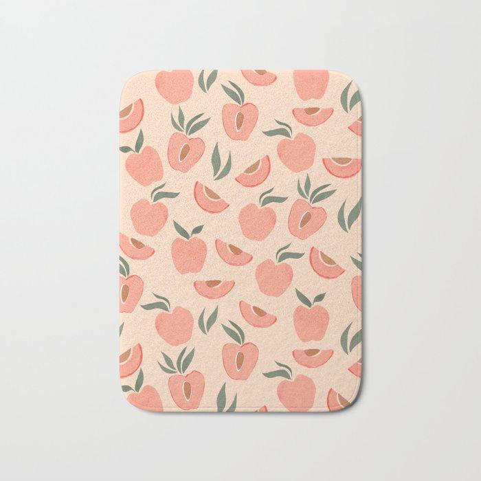 Peach Theme Bath Mat