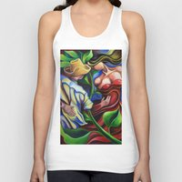 dancing Tank Tops featuring Dancing by miguezart