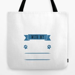 I Workout to Keep Up with My Rottweiler Fitness T-Shirt Tote Bag