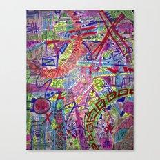 Brain Dump Canvas Print