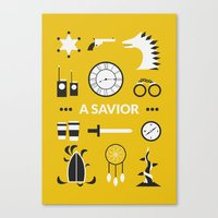 ouat Canvas Prints featuring OUAT - A Savior by Redel Bautista