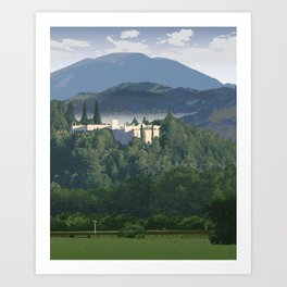 Napa Valley - Sterling Vineyards, Calistoga District Art Print