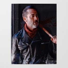 Negan And Lucille - The Walking Dead Poster