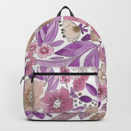 Autumn bouquet . 1 Backpack