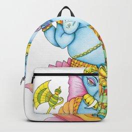 Zentangle Ganesh color Backpack