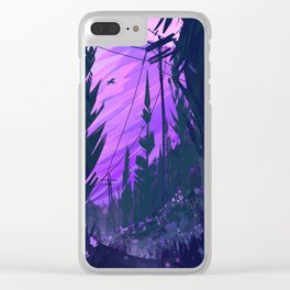 Clearing Clear iPhone Case