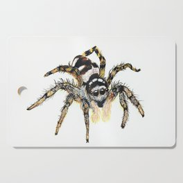 Jumping Spider Cutting Board