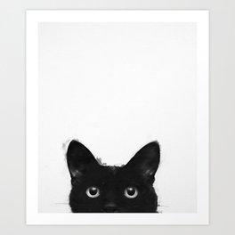 Black Cat Art Prints Society6