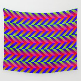 Zig Zag Folding Wall Tapestry