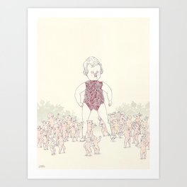 Another Mother - Animation Art Print