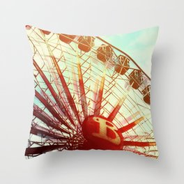 It was lovely Throw Pillow