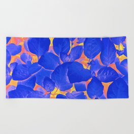 Supercontrast #painting #nature Beach Towel