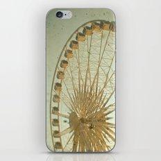 Golden Wheel iPhone & iPod Skin