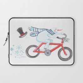 Walden's Red Bike Laptop Sleeve