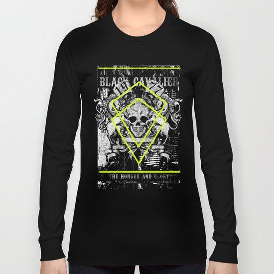 black cavalier Long Sleeve T-shirt